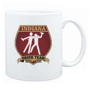 Indiana Drink Team Sign   Drunks Shield  Mug State