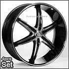 26 inch Giovanna Dalar6V Wheels Rims Chevy Tahoe Yukon Escalade Rim H3