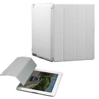 Magnetic Smart Front Cover + Back Case for Apple iPad 2