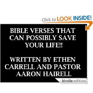 Bible Verses That Can Possibly Save Your Life Aaron Hairell, Ethen
