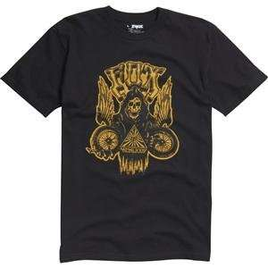 Fox Racing Heavy Death T Shirt   2X Large/Black