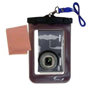 Gomadic Clean n Dry Waterproof Camera Case for the Nikon Coolpix S610