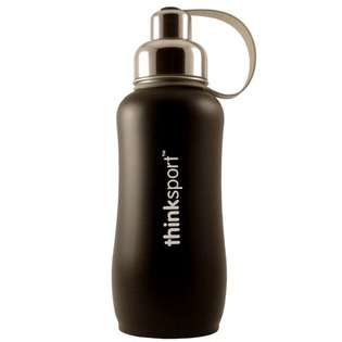 ThinkSport Insulated Bottle in Stainless Steel   Size / Color 25 oz