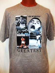 MUHAMMAD ALI BOXING CHAMPION TRIBUTE LEGEND CUSTOM DESIGN T SHIRT