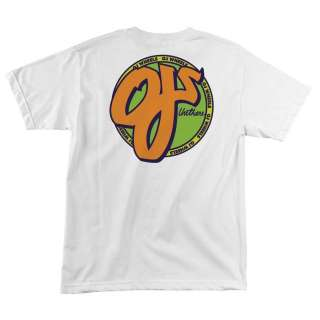 Santa Cruz OJ Wheels OJs STANDARD Logo Shirt WHT XL