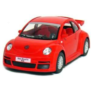 5 Volkswagen New Beetle RSi 132 Scale (Red) Toys & Games