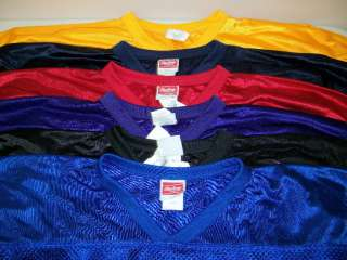 RAWLINGS YOUTH MESH FOOTBALL PRACTICE JERSEYS   ASST COLORS