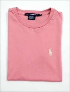 NWT Ralph Lauren Polo Womens SS Pima Crew T shirt Tee