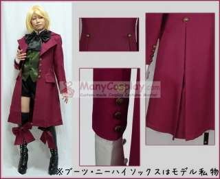 Butler Alois Trancy Custom anime Cosplay Costumes Party outfit clothes