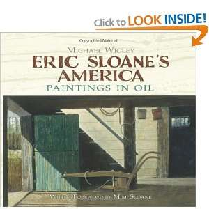 Eric Sloanes America Paintings in Oil (Dover Fine Art, History of