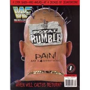 Magazine February 1998 (WWF Royal Rumble! Pain! Just a 4 letter word