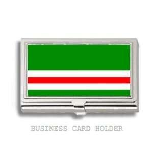 Chechnya Chechen Republic Flag Business Card Holder Case