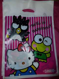 Sanrio Hello Kitty Maru Keroppi Pochacco Gift bags NEW