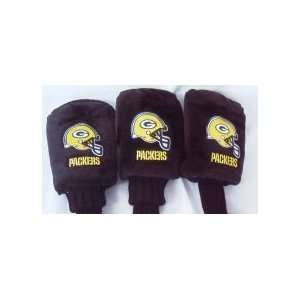 NFL GREEN BAY PACKERS LOGO GOLF HEADCOVERS: Sports