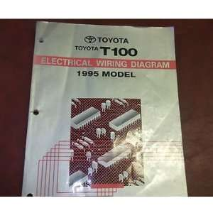 1995 TOYOTA T100 TRUCK Electrical Wiring Diagram Service