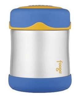 Thermos Foogo 290ml Insulated Stainless Steel Food Jar   blue   Boots
