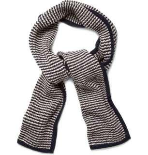 Accessories  Scarves  Wool scarves  Striped Merino Wool Scarf