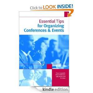 Essential Tips for Organizing Conferences & Events: Alison Robinson