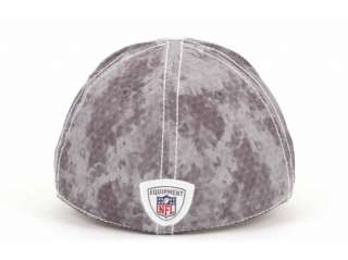 New York Giants Grey Camo Flex Fit Cap Hat sz S/M