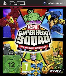 Marvel Super Hero Squad 2   The Infinity Gauntlet PS3