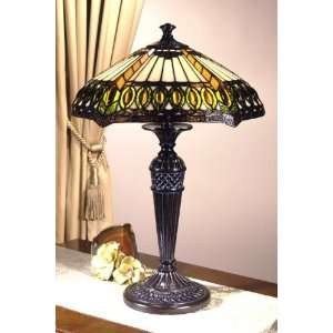 Dale Tiffany Jeweled Series Table Lamp