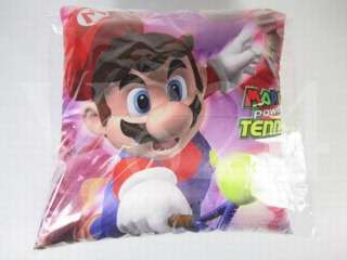 Super Marino Bros 15 Pillow 2 side SM0342 MARIO Tennis