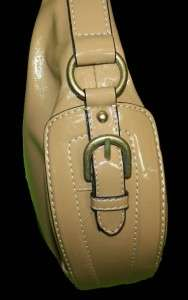 Liz & Co Tan Faux Leather Purse Handbag Bag 9A24