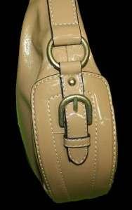 Liz & Co Tan Faux Leather Purse Handbag Bag 9A24 |