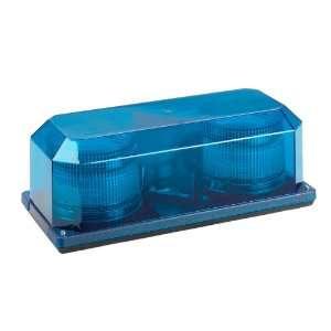 Wolo 3705P B Priority 2 Blue Strobe Mini Bar Warning Light Automotive