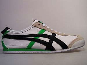 Onitsuka Tiger MEXICO white / black / green 66 Asics