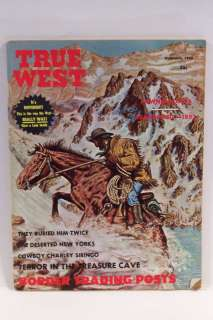 True West Magazine Feb 1965 Pawnee Scouts