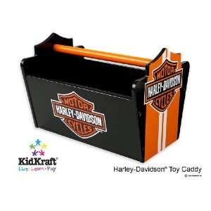 Harley Davidson Collection Legend Toy Caddy Storage