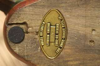 VTG 1982 83 TOM TABER Mallard Hand Carved Wooden Duck Decoy