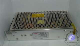 Switching Power Supply 100W single S 100 12 8.5A12V 6PS