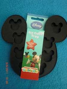 Disney *Mickey Mouse* Silikon Eiswürfel Form schwarz