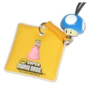 Nintendo Super Mario Bros. Blue Mushroom Princess Peach