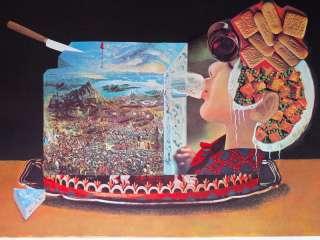 SALVADOR DALI J.Les PIOS NONOCHES ART HAND SIGNED