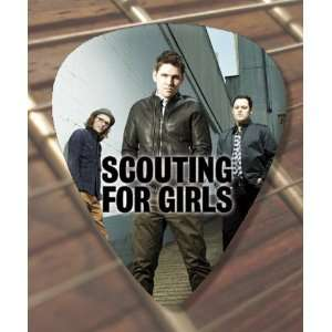 Scouting For Girls Premium Guitar Pick x 5 Medium Musical