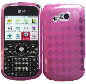 firm gel vinyl skin case cover compatible with lg 900g brand new in