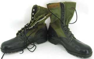 1966 Vietnam War era jungle combat boots size 10W 10 wide