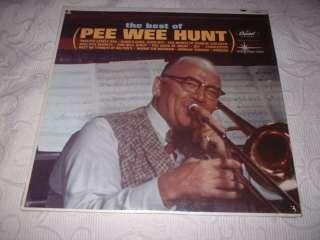 PEE WEE HUNT Best Of LP Capitol 12th St. Rag JAZZ 62