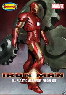 IRON MAN Mark 3 III Plastic Model Kit by Moebius