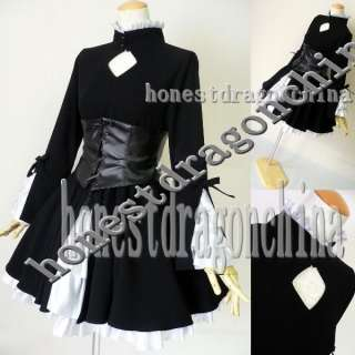 Gothic Lolita Cosplay Kleid Fate/stay night saber A2