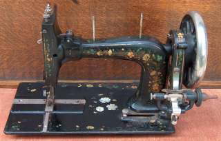 Antique Singer Model 12 Sewing Machine 1871 New Family