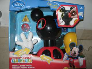 Mickey Mouse CLUB HOUSE Musical Shape Sorter HARD TO FIND Talk