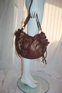 BABY PHAT Gold Studded Copper Hobo Bag