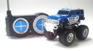 43 Mini RC Radio Remote Control Pickup Monster Truck and Jeep 9181 8