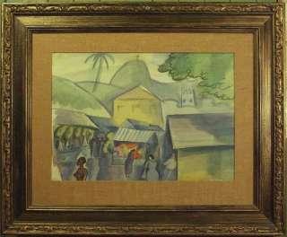 Robert Lee Eskridge (1891 1975) Rio de Janeiro