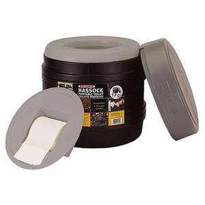 Reliance Portable Hassock Toilet Camping Emergency