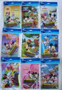 48 Mickey Mouse Friend Coloring Book Crayon Party Favor